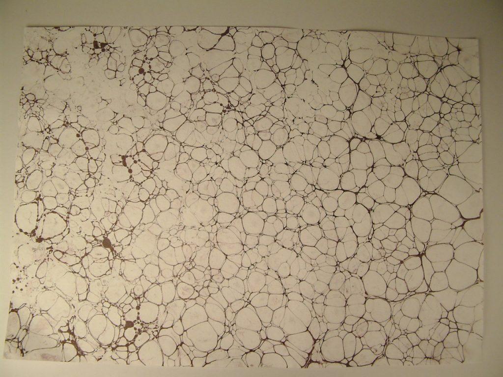 Itališkas marmuruotas popierius